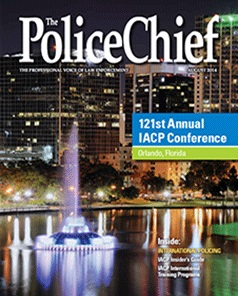 Police Chief Magazine 2014 August